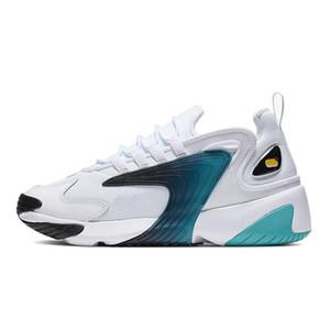 الرجال تكبير Nike Shoes 2K لايف ستايل الاحذية الأبيض أسود أزرق ZM 2000 90S أسلوب المدرب في الهواء الطلق أحذية رياضية أحذية مريحة M2K السببية 36-45