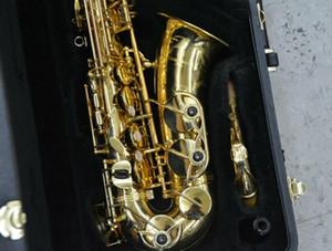YANAGISAWA A-901 Alto Saxophone alta qualidade ouro Lacquer Sax instrumentos musicais com bocal Caso Acessórios frete grátis