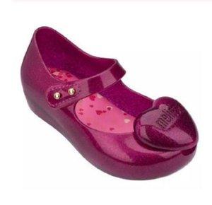 Mini Melissa corazón de la muchacha de la jalea sandalias de verano sandalias de los niños sandalias de playa zapatos zapatos para niños pequeños para chicas niños