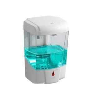 700ml automático dispensador de jabón líquido del sensor de montaje en pared dispensadores de jabón spray desinfectante sin contacto de jabón líquido de goteo del dispensador GGA3614-7