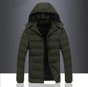2019 Nova FC6625 Homens Winter Fashion Thick Parkas Homens Neve Coats respirável Quente térmica Inverno para baixo Cotton Jakcet Homens Marca roupa