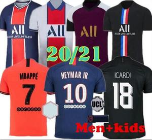 Ayak MBAPPE futbol forması CAVANI PSG X AJ 2019 2020 eğitim futbol forması Ander Herre Camiseta de futbol Notre Dame de 19 20 PSG Maillots