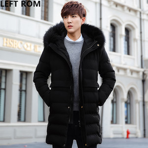 LEFT ROM/fashion 2019  Hooded Design Long sleeve High-quality Cotton padded jacket / coat men Comfortable winter coat S-3XL