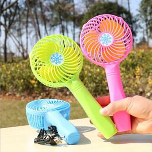 친환경 편리한 Usb 팬 접이식 핸들 미니 충전 전기 팬 눈송이 휴대용 휴대용 홈 오피스 선물
