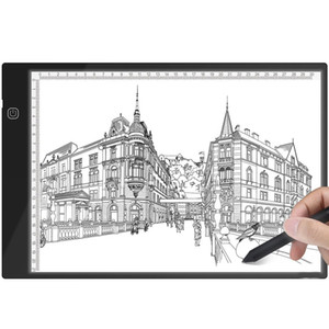 A4 Light Box Tracer LED Graphic Tablet Writing Painting Light Box Tracing Board Copy Pad Digital Drawing Tablet Artcraft A4 Copy Board