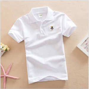 Summer baby  boy clothes T-shirt short-sleeved POLO shirt baby girl  clothes kids summer clothing