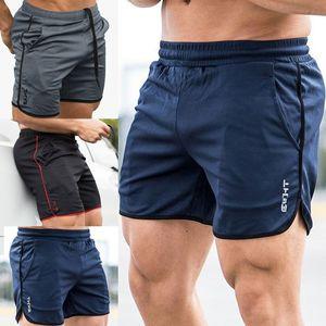 Hombres GYM Shorts Training Running Sport Workout Casual Jogging Shorts Pantalones 2019 Mens Beachwear Shorts Casual Short Hot Sale