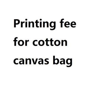 Costo di stampa per le borse di tela di cotone Ordine personalizzato Shopping online Borse personalizzate Totes Tote stampata in tessuto