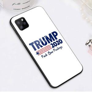Trump Phone Case Biden 2020 Election IPhone11 téléphone portable IPhone anti-chute Xs Max en verre trempé de protection manches couverture IIA32