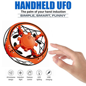 Mini UFO Drone Sensor Infravermelho controlo RC Quadcopter Altitude de indução Hold Mini Intelligent Induction Aircraft Kid Gift