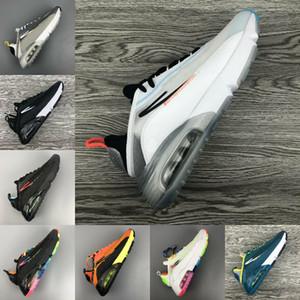 Venta de alta calidad de los zapatos corrientes 2090 Hombres Mujeres Formadores de la X Pure Platinum Pato Camo Bred Triple blancos negros Air 2090 zapatillas deportivas