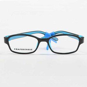 YOUTOP Çocuklar Gözlükler ANTISLIP Sapları Esnek Silikon Çerçeve Boy GirlAge Güneş gözlüğü Çerçeveler Gözlük Aksesuarları 35 No9
