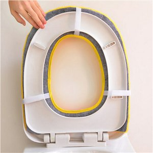 Soft Warm Long Plush Toilet Seat Cover Mat 2017 New 1PC Pad Lid Comfortable Washable Warmer Health Toilet Closestool Seat Cover