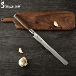 Faca de cozinha de aço inoxidável Sowoll melancia Faca japonesa Yanagiba Sashimi Usuba que corta salmões Sushi Petty Chef faca