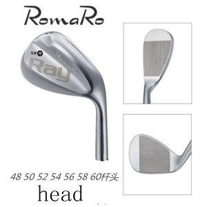 CNC ile GOLF RomaRo Ray SX-R CF-Dövme karbon çelik golf kama kafası 50 52 54 56 58 ütüler ücretsiz nakliye baş face.48 öğütülmüş