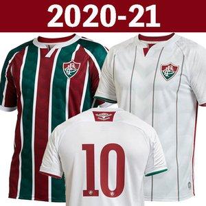 Top thailand 20 21 fluminense FC soccer jersey 2020 2021 fluminense camisa de futebol football shirt maillot de foot 123