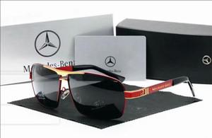 2019hot selling Men New Designer Fashion Cool gafas de sol polarizadas Hipster gafas de sol reflectantes conductores necesarios Piloto de conducción de calidad superior