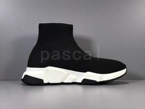 Дешевые платформы Speed Trainer Mens женщин Носок обувь Черный Белый Красный Мужчины Женщины Лучшие качества Мода Кроссовки Повседневная обувь