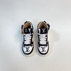 2020 Sıcak Satış Çocuk Deri Sneakers Marka Martin Boots Lüks Deri Yüksek Bangs Boys Kız Spor ayakkabılar Casual Shoes