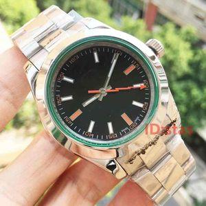 Luxus automatische mechanische 116400 Edelstahl-Mann-Wasser-beständiges Herren-Armbanduhr beiläufige Armbanduhren Uhren
