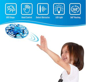 Intelligente Induction UFO Mini Quadcopter Gesture Sensing Smart-Fliegen-Flugzeug-Hubschrauber-Spielzeug RC Drone für Kinder Kinder Geschenke Weihnachten