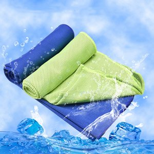 Cold towel outdoor cooling artifact factory direct custom cold cold fabric quick-drying sports ice towel multicolor
