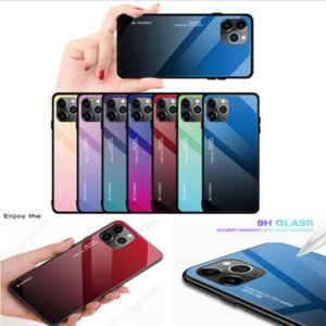 NEW 2019 Gradient Colors Anti Shock Airbag Clear Cases For iPhone 11 Pro Max XR XS 8 7Plus 6S FREE SHIPPING