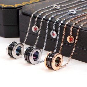 2019 Red man Pendant Gold Silver Color Necklace for Women Vintage Collar Costume Jewelry with original box set