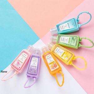 Silikon Soap Flaschen Shampoo Reise Pump Mini Hand Sanitizer Flaschen tragbare Flasche niedliches Cartoon Hand Sanitizer Bottle KKA7728
