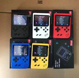 Mini Handheld Game Console Portable Retro 8 Bit 400-in-1 FC Games AV Line To TV Video Game Player for Kids Birthday Christmas Gift