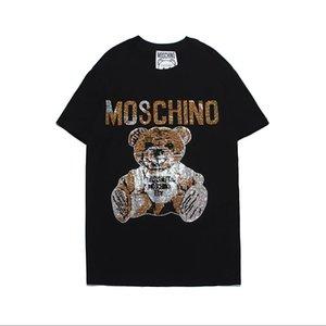Erkek Tasarımcı Erkek T Shirt Erkekler Kadınlar için Ünlü T-shirt Mektuplar Moda Kısa Kollu Kadın Üstleri Tee Erkek Tasarımcı Giyim 2 Renkler S-2XL.