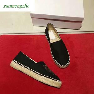LuxuryHot amantes sapatos com sapatos Tiger única cabeça e sapatos de palha preguiçoso bordado com caixa