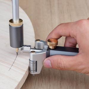 Woodworking Linear Arc Dual-purpose Scriber ruler Parallel Line Drawing Tool Measuring gauge DIY Woodworking Scribe Tools