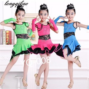 The new professional performance clothing girls lace Latin dance competition clothing TXWZ1