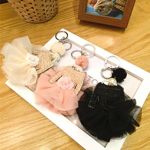 :Korea Fashion Flower Small Clothes Trend Package Hang Key Chain Car Hang Bag Hang Piece Wholesale