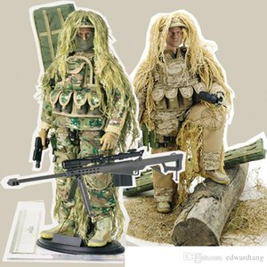 Military Articulated Dolls Toys, 12 Inches SNIPER with Barrett, 1:6 High Simulation, for Party Kid' Birthday Gifts, Collectings, Decotations
