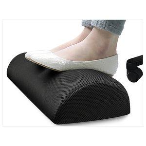 2018 Ergonomic Feet Cushion Support Foot Rest Under Desk Feet Stool Foam Pillow For Home Computer Work Chair Travel Carpet