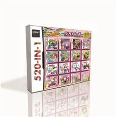 520 en 1 calidad caliente cartucho de juego para DS 2DS 3DS consola de juegos Top