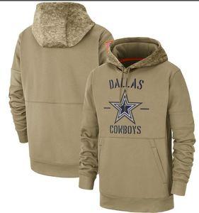 2020 Miúdos Mulheres Homens Dalla Tan Vintage Sweatshirt 2019 Saudação Para Serviço Sideline Therma Pullover Cowboy Hoodie Tan