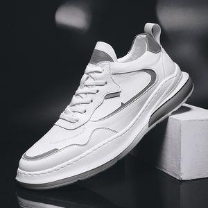 Человек VastWave микрофибры Welt Строчка Повседневная обувь Мужские кроссовки качество люкс Мужской досуг обувь Мода Flat Холст обувь