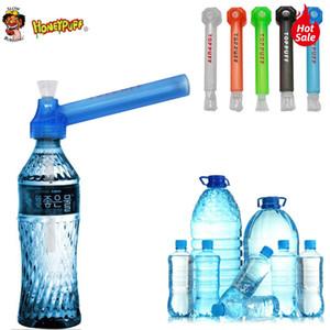 Toppuff Top Puff pour le verre Voyage eau Bongs pour le tabac 160mm Acrylique Huile Brûleur pipe à eau Bongs Acrylique Smoking Pipes eau Accessoires