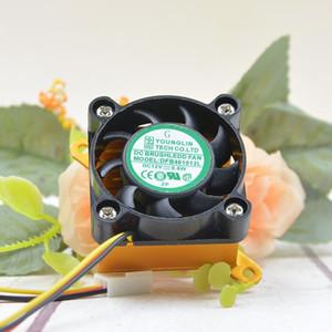 Bilgisayar anakart 4 cm 4010 CPU soğutma fanı DFB401012L ekran kartı sessiz küçük fan