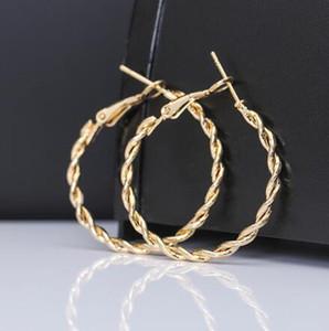 2019 brincos de ouro para as mulheres moda grande círculo oco brincos bola partido boate namorada presente brincos promessa