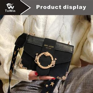 Ретро сумки на одно плечо Женщины Роскошные Crossbody сумка сплошной цвет сумки Известный дизайнер сумка высокого качества PU кожаный клапан