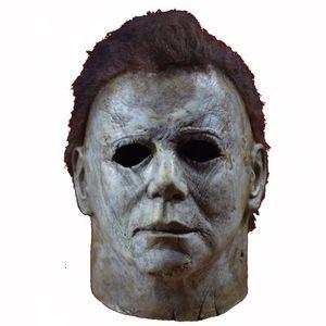 2019 Yeni Michael Myers Cadılar Bayramı Cosplay Korku Tam Yüz Maskesi Scary Movie Karakter Yetişkin Cosplay Kostüm Dikmeler Oyuncak SH190922 Maske