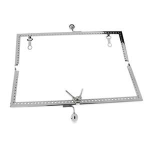 Metal Diamond Head Handle bloqueio Costura Bolsa Coin Purse Bag Arch Beijo Fecho Quadro
