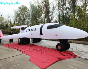 Avión artificial al aire libre plano inflable espectacular del aeroplano inflado modelo gigante del 10m