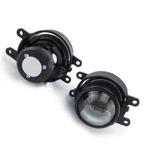Parachoques delantero faro halógeno LED escondido H8 H9 foco de bombilla conjunto de lente de luz antiniebla de viga alta baja para TOYOTA HILUX 2015 2018