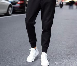 Homens Casual Preto Calças Calças Calças Lápis Calças Compridas Homme Pantalones chandal Hombre Mens Calças Basculador