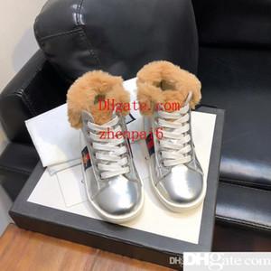 Zapatos para niños chic para niños Zapatos de diseño para niños Unisex chaussures enfants Zapatillas de deporte de alta calidad para niños Zapatos de cuero genuino para niños pequeños